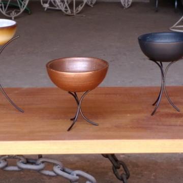 vasos bowls para decoração trio.