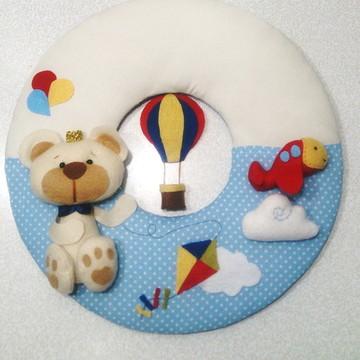 Enfeite de Porta de Maternidade Menino-Urso