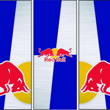 72430bf2b8d64 Adesivo Decorativo de Geladeira Red Bull G405