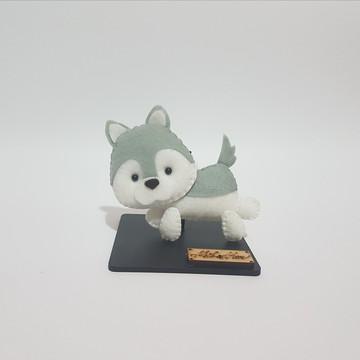 Chaveiro / Toy Art - Husky Siberiano