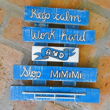 Cabideiro de parede Stop MIMIMI