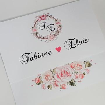 IMPERDÍVEL - Convite de Casamento barato