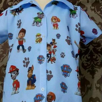 Camisa temática infantil
