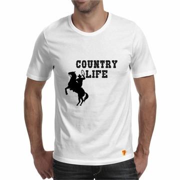 a9b64dd896b59 Country Life Camiseta Masculina Cowboy