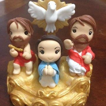 imagem pai eterno em biscuit