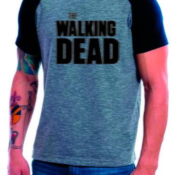 Camiseta Raglan Manga Curta The Walking Dead