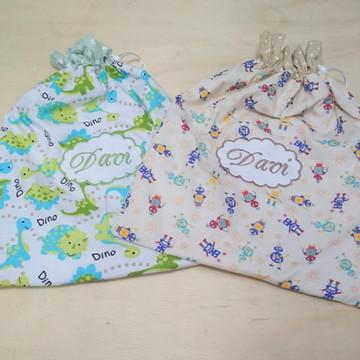 2 Saquinhos para roupa suja e limpa