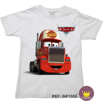 Camiseta Infantil Carros McQueen 03