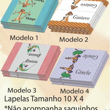 Lapela p/saquinho-Timão