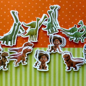 O Bom Dinossauro [apliques kit com 40]