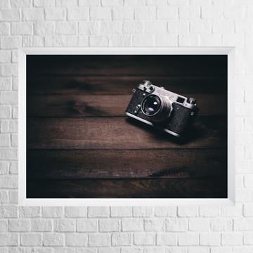 Quadro Máquina Fotográfica