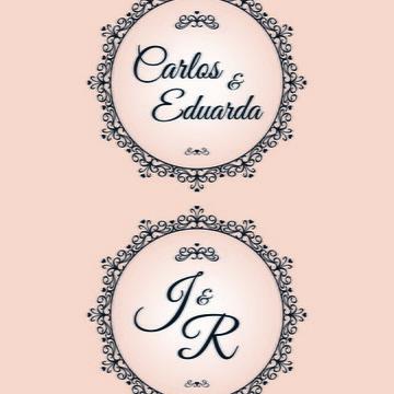 Monograma/Emblema Personalizado - Casamento ou Noivado (006)