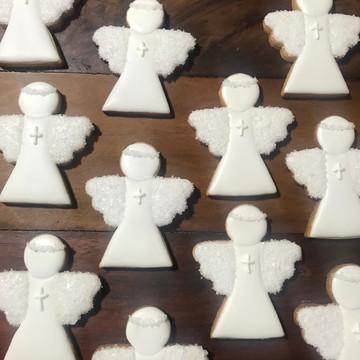 Biscoitos tema Batizado