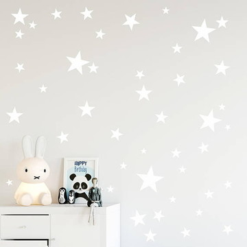 Adesivo Estrela branca Pedido Personalizado