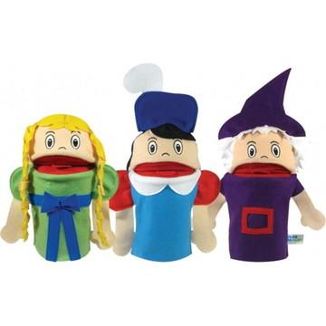 Fantoches - Histórias Infantis - Rapunzel - Papo de Pano