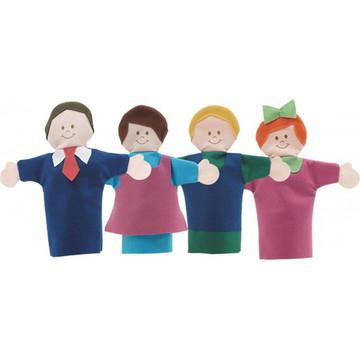 Fantoches - Histórias Infantis - Família - Papo de Pano
