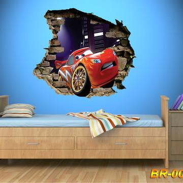 ADESIVO 3D CARS