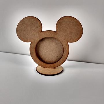MICKEY - Porta Retrato MDF Cru -