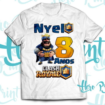 Camiseta Aniversario Clash Royale