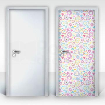 Adesivo para Porta – Sonho de Menina