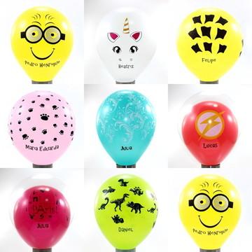 Personalização para Balões