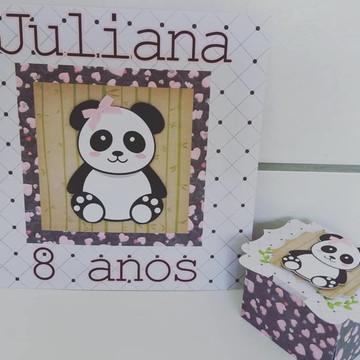 Festa do Pijama Panda lembrancinha panda
