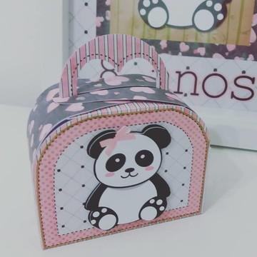 Panda Lembrancinhas Panda festa kit panda maleta