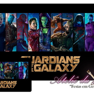 Jogo Americano - Guardiões da Galáxia