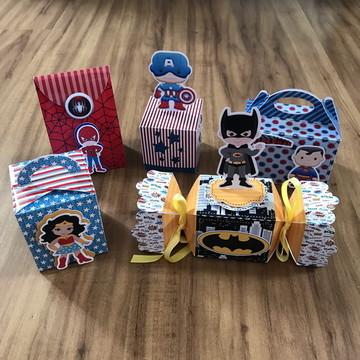 kit Personalizado Vingadores 50 itens