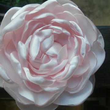 Flor para cabelo Isabel rosa