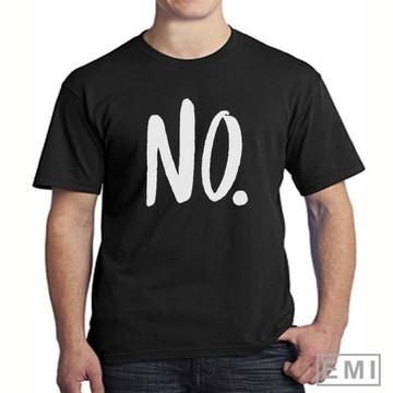 Camisetas não no