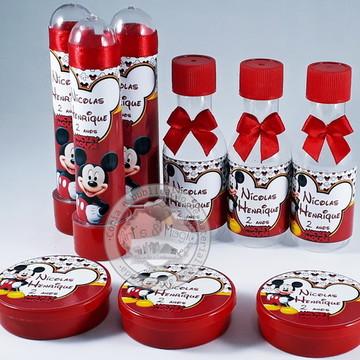 Kit Lembrancinhas de Aniversario Mickey
