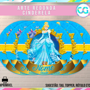 Cinderela - Arte Redonda Digital