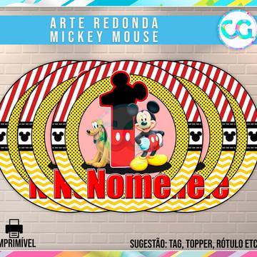 Mickey - Arte Redonda Digital