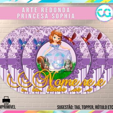 Princesa Sofia - Arte Redonda Digital