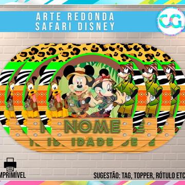Safari Disney - Animal Kingdom - Arte Redonda Digital