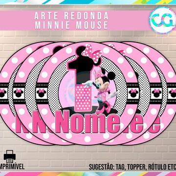 Minnie Rosa - Arte Redonda Digital
