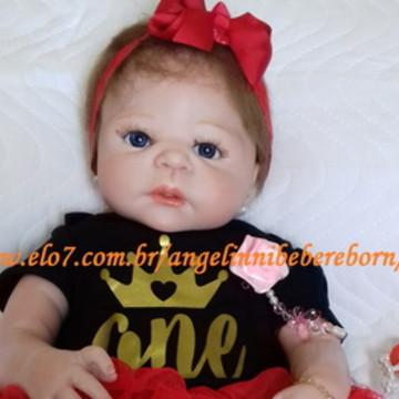7c770f13b6 Bebê Reborn Louise - Pronta Entrega
