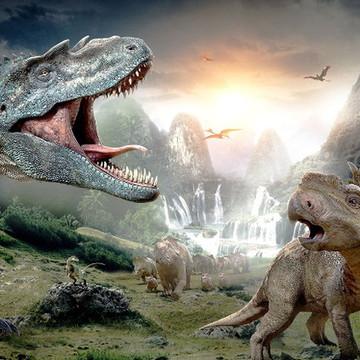Papel Arroz A4 Dinossauro 4