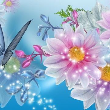 Papel Arroz A4 Flores 4