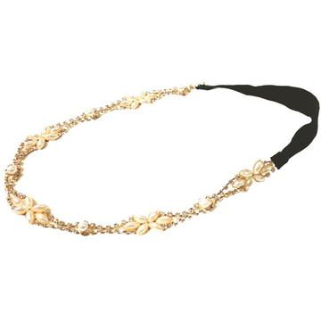 Headband Feminina Pedras Pérolas
