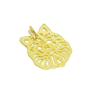 Pingente Lulu da Pomerania | Ouro 18k