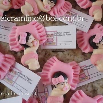 Lembrancinha Biscuit Bebê Nascimento Maternidade