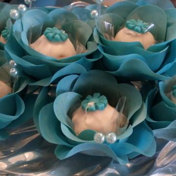 Forminha Azul tiffany