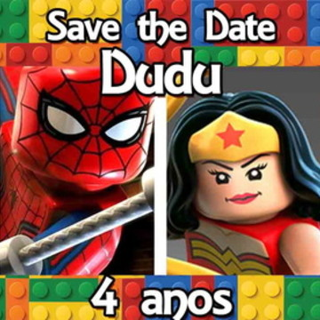 SAVE THE DATE LEGO