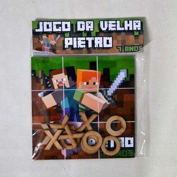 Jogo da Velha Minecraft em MDF
