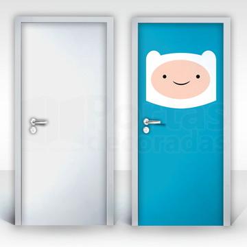 Adesivo para Porta – Finn e Jake-02