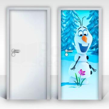 Adesivo para Porta – Frozen