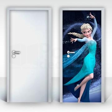 Adesivo para Porta – Frozen-03