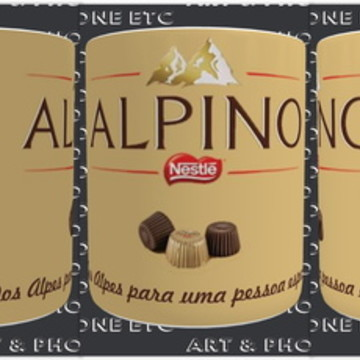 CANECA CHOCOLATE ALPINO
